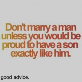 marry a man