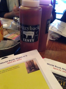 WBN 2014 final stop. Piggy Back Tavern